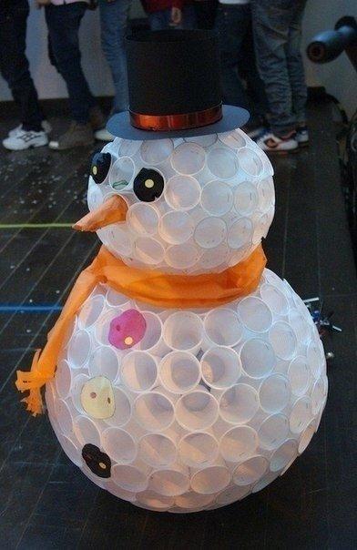 Вариант урбанистического снеговика