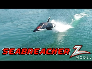 Robotic Dolphin and Flying Water Car - In 4K! With Jetovator and Seabreacher✈🌴☀