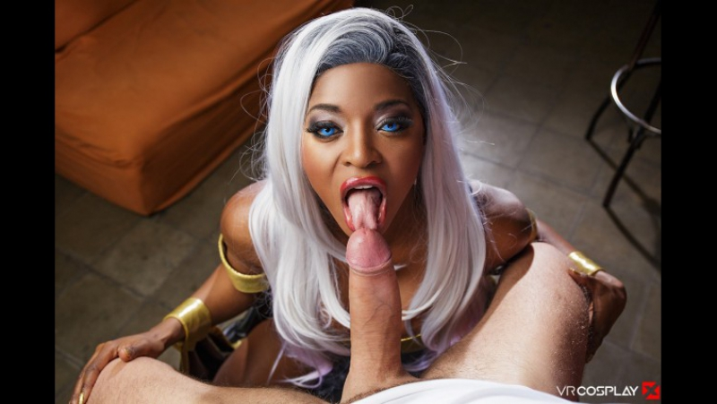 PRon Jasmine Webb ( XXX Men, 323638) 2017 г. , Blowjob, 180, Superhero, Big Tits, Black, Curvy, Movie,