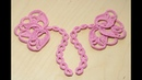 Вязание крючком БУТОН ЦВЕТКА мотив для ирландского кружева crochet irish lace