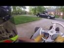 Go Kart vs Cop