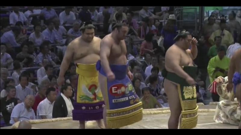 大相撲 幕内の全取組「名古屋場所 四日目」