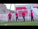 Как тренируются вратари ФК Монако Субашич и Ко
