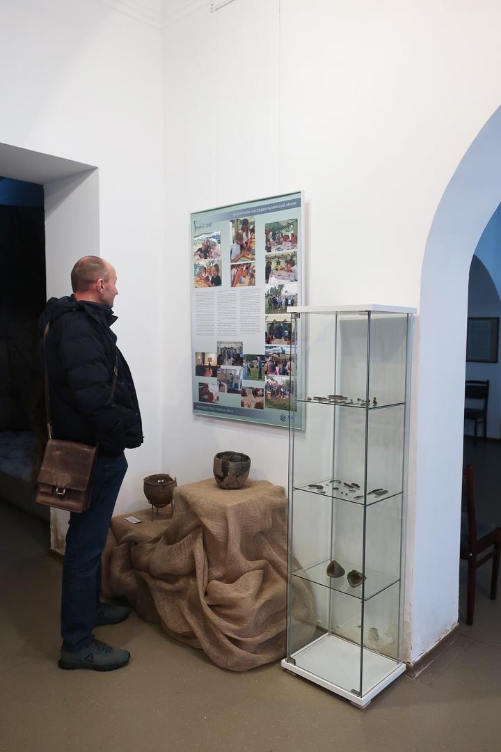 Археологическая выставка: Унорож - путешествие сквозь века