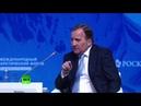 Владимир Путин в пленарном заседании Международного арктического форума Россия 2019