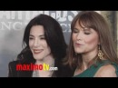 Jaime Murray and Lucy Lawless at Spartacus: Vengeance Premiere ARRIVALS