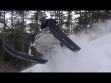Ski doo MONSTER ELAN  540cc shredding  the powerlines!    PowerModz!