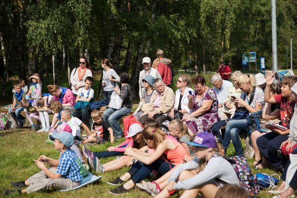 В заказнике «Алтуфьевский» прошли литературные чтения к 200-летию Ивана Тургенева