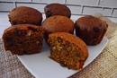 Кексы с сухофруктами и орехами