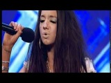 X-Factor - Chloe Victoria - Spoilt or Talented? (Try to ignore the slugs above her her eyes)