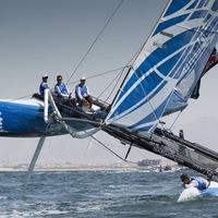 Этап Extreme Sailing Series в Санкт-Петербурге