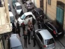 Italian Driver Attempts U-Turn, Gets Stuck, Causes Havoc
