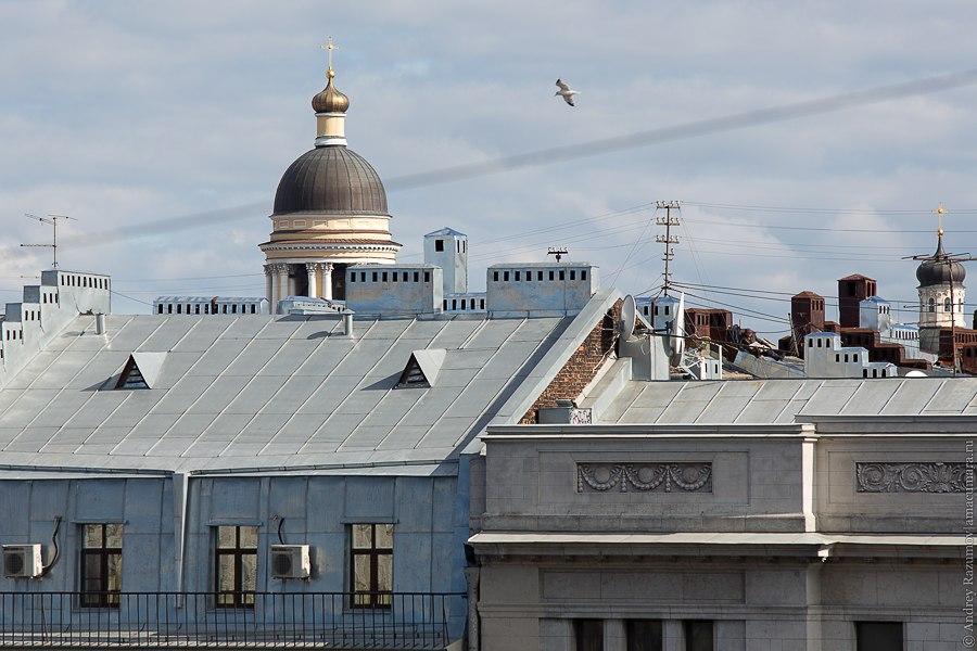 Прогулки по крыше в Санкт-Петербурге Владимирский собор