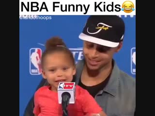 NBA Funny kids🤣