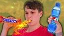 Синяя Пепси и Острый Сникерс : Запрещённая Еда
