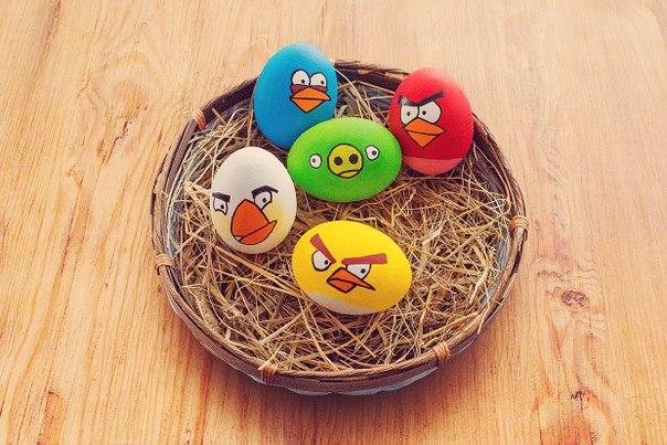 Как сделать на пасху яйца