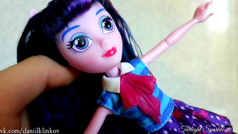 Обзор на куклу Twilight Sparkle Equestria Girls🌌 D.K.CHANNEL📹😊❤