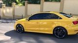 Audi S3 yellow 2017