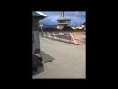 Сегодня, 10 августа, была демонтирована стела на въезде в Махачкалу со стороны северного поста ГИБДД