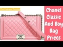 Chanel Spring Summer 2018 Classic And Boy Bag Collection Act 1 - Chanel Bag Price 2018