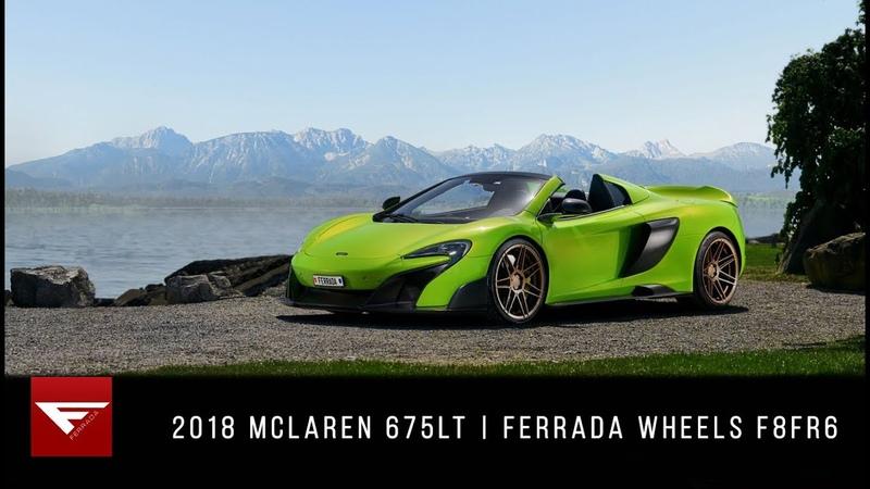 2018 McLaren 675LT | Mantis Hulk | Ferrada Wheels F8FR8