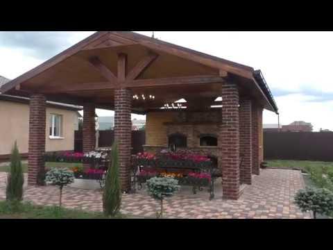 Строительство беседки с мангалом в Рязанской области