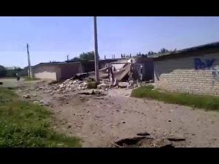 Северск: 18+ Обстрел с воздуха. Есть пострадавшие. АТО, Донбасс, Донецк, Луганск