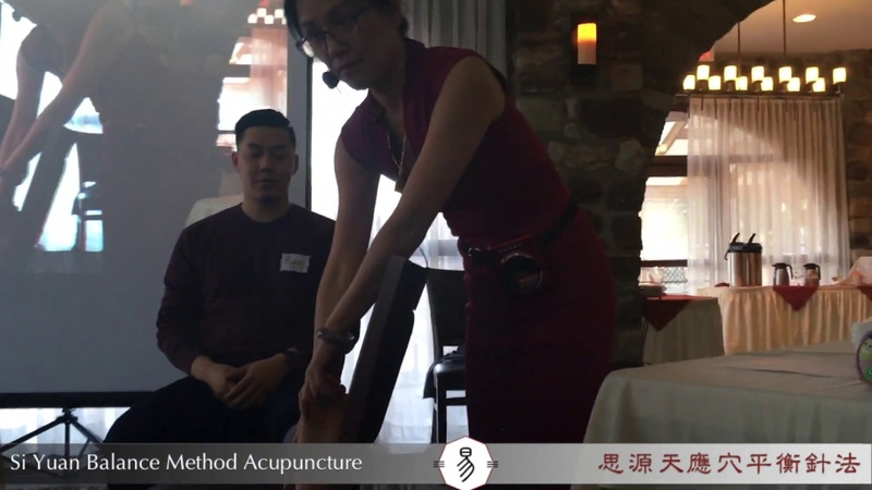 The Academy of Acupuncture Balance Method Acupuncture Live Demo Compilation