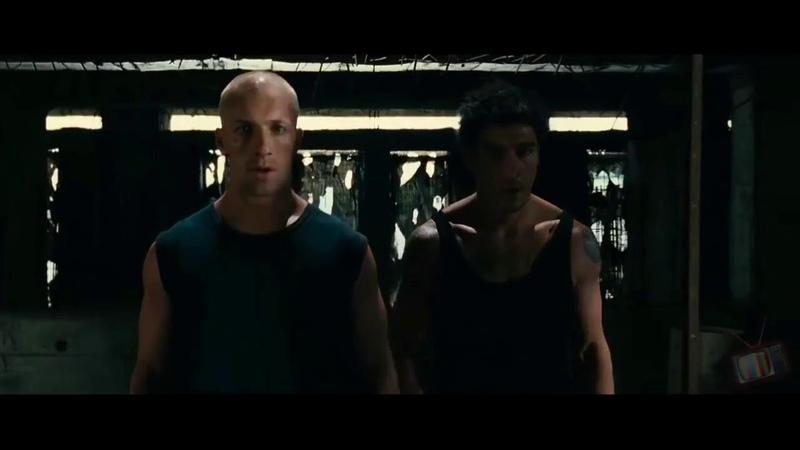 Отрывок из фильма 13-й район (Дамьен и Лейто против Громилы) (Под музыку Tiesto DallasK - Show Me)