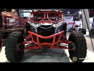 2017 Can Am Maverick Max X3 Turbo X RS with Audio Formz Audio - Walkaround - 2017 SEMA