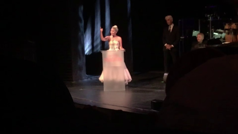 Lady Gaga patron artists awards speech SAG-AFTRA Foundation (08.11.2018)