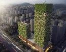 В Китае к 2019 году построят «вертикальные леса». Два дома, 2500 кустарников, 1000 деревьев…