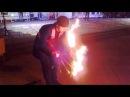 Огни ночного города  экстремальное феерическое волшебное зрелище Абакан
