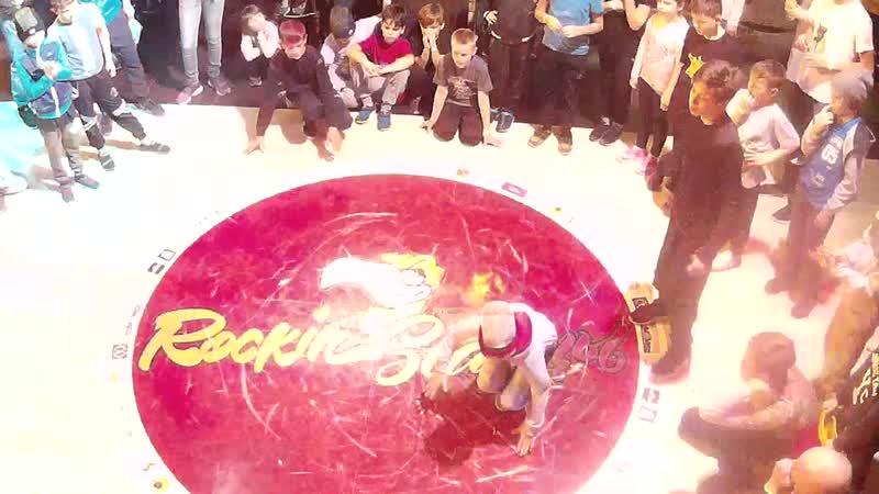B-girl Аря на ROCKIN' STAR'цы hip-hop festival