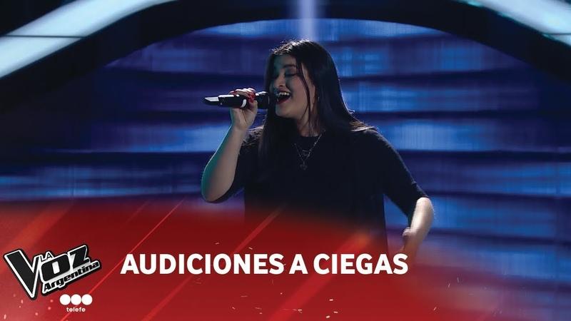 Sofía Morales - Zamba del laurel - Mercedes Sosa - Audiciones a Ciegas - La Voz Argentina 2018