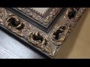 Оформление зеркала в багетную раму