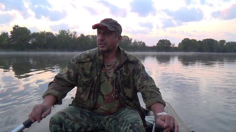 Рыбалка. Активный отдых на природе у реки с элементами рыбалки.