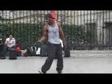 Крутые танцы на улицах Парижа