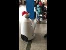Наш робот провел экскурсию для детей на вокзале, проверив их знания о железнодорожном транспорте и правилах нахождения на объект