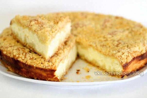 Рецепт королевского пирога с творогом