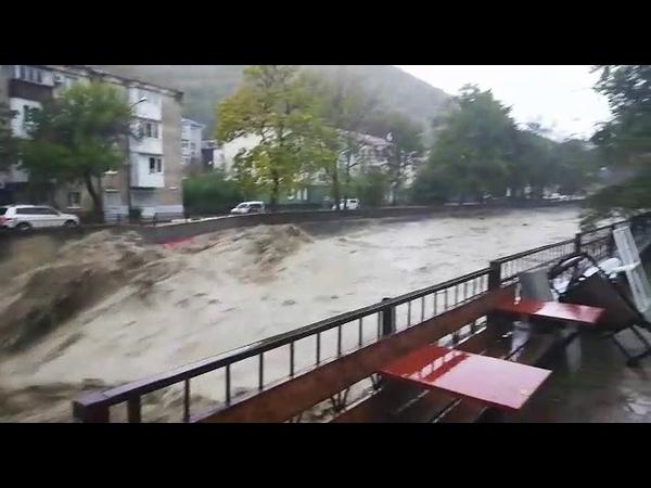 Туапсе Наводнение 24 10 2018