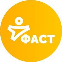 Логотип Акселератор проектов ФАСТ. РЕВОЛЮЦИЯ Удмуртия