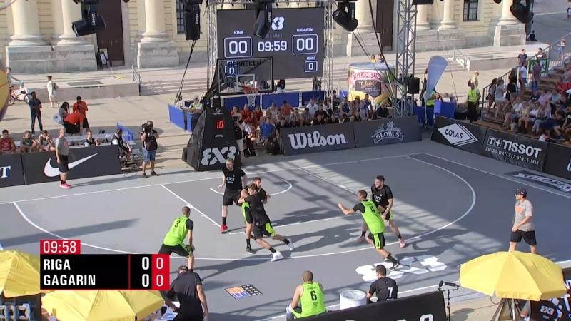 FIBA 3x3 World Tour 2018 Debrecen Riga VS Gagarin 30 08 2018