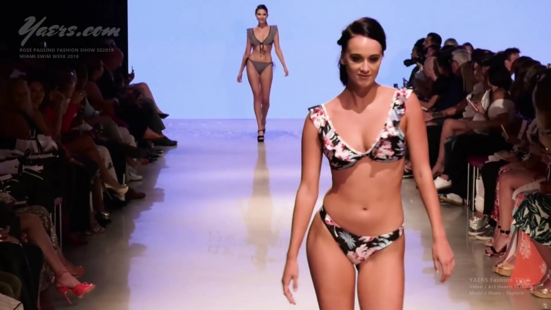 Rose Paulino Fashion Show SS 2019 Miami Swim Week 2018 Arts Hearts Fashion - Luxury Fashion World Exclusive