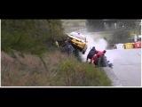 Big crash - Jolly Rally Valle d'Aosta 2014 -- Lucky people.