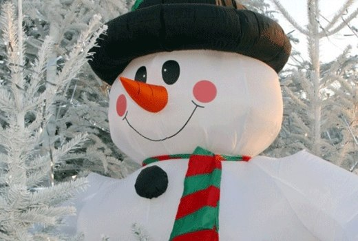 Как сделать снеговика из подручных материалов своими руками - Ubolussur.ru