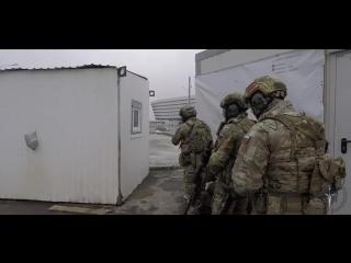 Работа спецназа