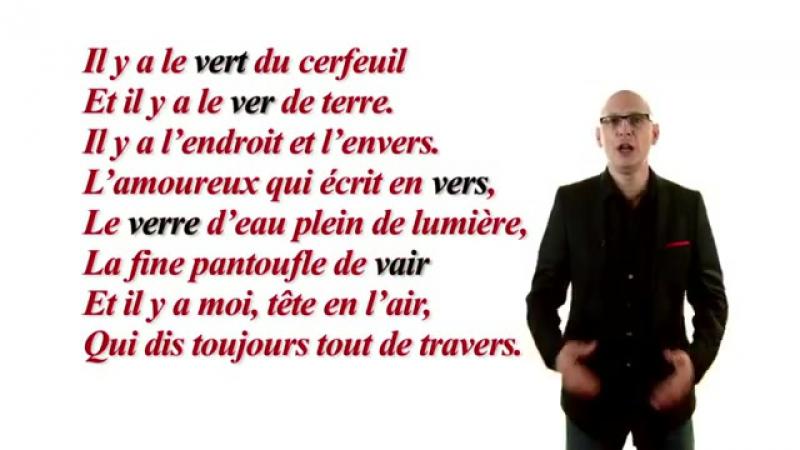 Episode 33 Homonymes - Au Pied de la Lettre - Émission TV