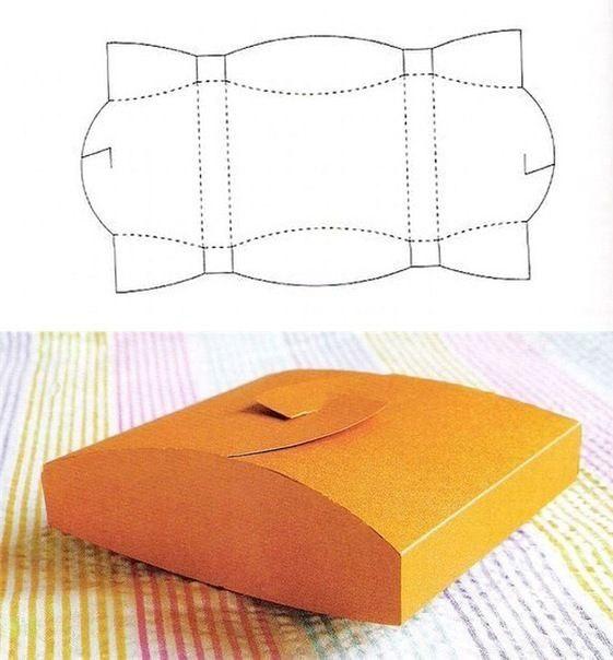 Схема-выкройка упаковочной