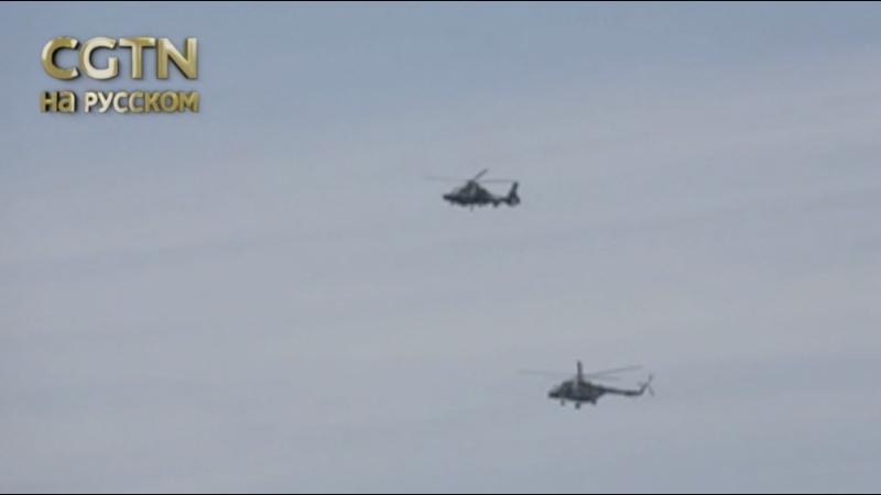 ВВС КНР на протяжении суток стреляли по мишеням в юго-восточных приморских районах страны.